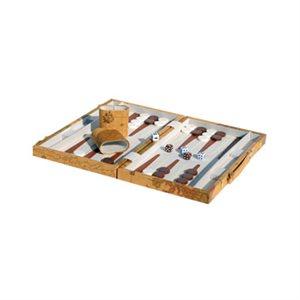 Backgammon Tan Map
