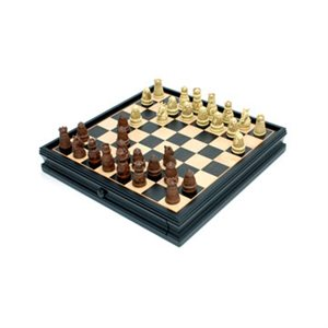 """Chess And Checkers 15"""" Medieval"""