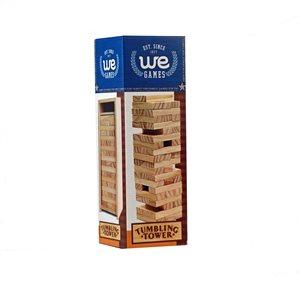 "Wooden Tumbling Tower Set 10"""