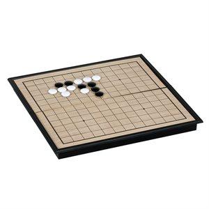 """Go Set: Plastic Folding Board, Magnetic, 9 1 / 2"""""""