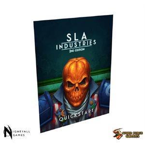 SLA Industries RPG 2nd Ed: Quickstart (BOOK)