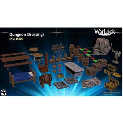 Dungeons & Dragons: WarLock Tiles Dungeon Dressings