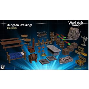 Dungeons & Dragons: WarLock Tiles Dungeon Dressings