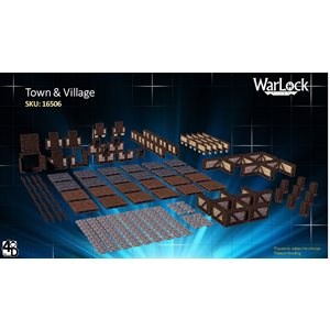 Dungeons & Dragons: WarLock Tiles Town & Village