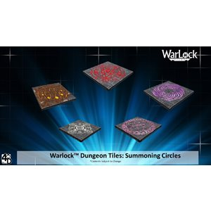 Dungeons & Dragons: WarLock Tiles Summoning Circles
