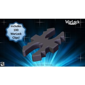 Dungeons & Dragons: WarLock Tiles WarLock Clips (100) ^ JUN 2020