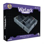 Dungeons & Dragons: WarLock Tiles Dungeon Tiles II - Full Height Stone Walls