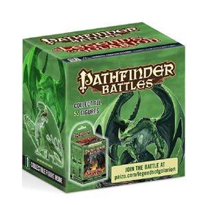 Pathfinder Battles Minis: Legends of Golarion - Gargantuan Green Dragon