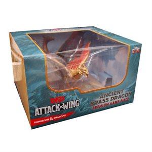 D&D Attack Wing Premium Brass Dragon