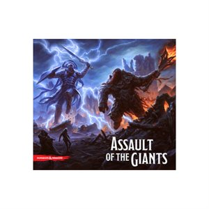 Dungeons & Dragons: Assault of the Giants Adventure System Board Game