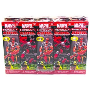 Marvel HeroClix: Deadpool and X-Force Booster Brick