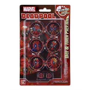 Marvel HeroClix: Deadpool and X-Force Dice & Token Pack