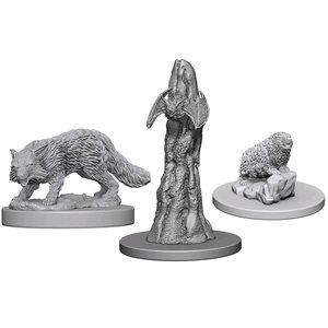 Pathfinder Deep Cuts Unpainted Miniatures: Wave 1: Familiars