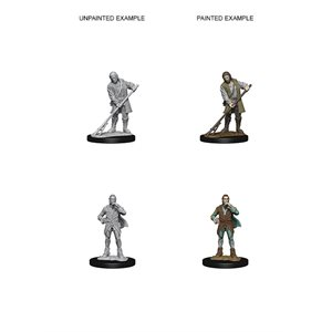 Pathfinder Deep Cuts Unpainted Miniatures: Wave 4: Towns People
