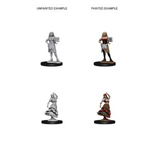 Pathfinder Deep Cuts Unpainted Miniatures: Wave 4: Bartender / Dancing Girl