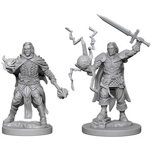 Pathfinder Deep Cuts Unpainted Miniatures: Wave 1: Human Male Cleric
