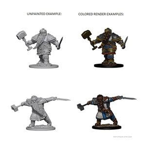 D&D Nolzurs Marvelous Unpainted Miniatures: Wave 1: Dwarf Male Fighter