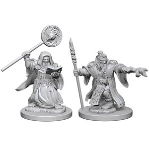 D&D Nolzurs Marvelous Unpainted Miniatures: Wave 1: Dwarf Male Wizard