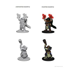 D&D Nolzurs Marvelous Unpainted Miniatures: Wave 2: Dwarf Male Cleric