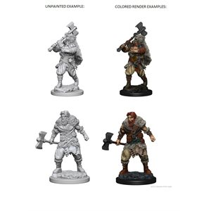 D&D Nolzurs Marvelous Unpainted Miniatures: Wave 1: Human Male Barbarian