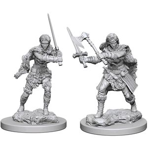 D&D Nolzurs Marvelous Unpainted Miniatures: Wave 1: Human Female Barbarian