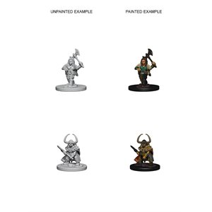 D&D Nolzurs Marvelous Unpainted Miniatures: Wave 4: Dwarf Female Barbarian