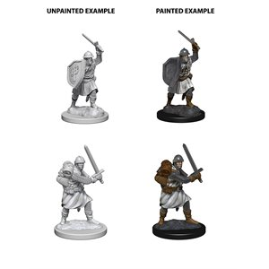 Pathfinder Deep Cuts Unpainted Miniatures: Wave 4: Infantrymen