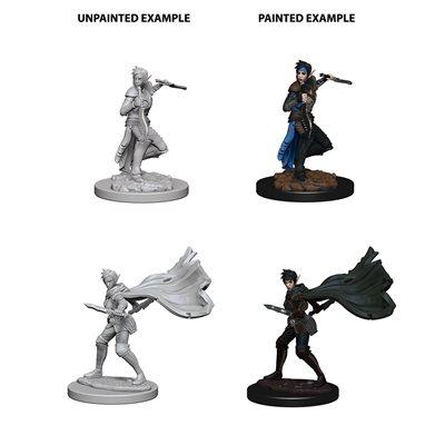 Pathfinder Deep Cuts Unpainted Miniatures: Wave 4: Elf Female Rogue