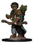 Wardlings RPG figure (Painted): Boy Ranger & Wolf