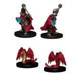 Wardlings RPG figure (Painted): Boy Cleric & Winged Snake