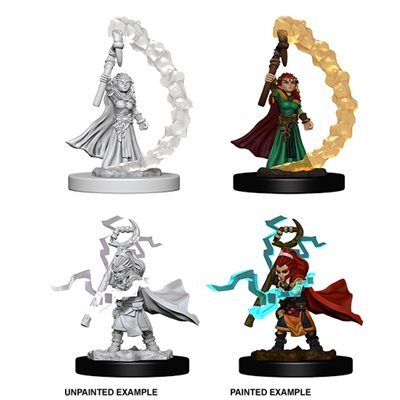 Pathfinder Deep Cuts Unpainted Miniatures: Wave 5: Gnome Female Sorcerer