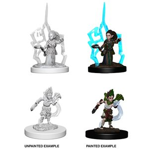 Pathfinder Deep Cuts Unpainted Miniatures: Wave 5: Gnome Female Druid
