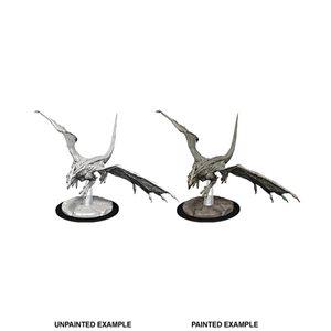 D&D Nolzurs Marvelous Unpainted Miniatures: Wave 9: Young White Dragon ^ Aug 14, 2019