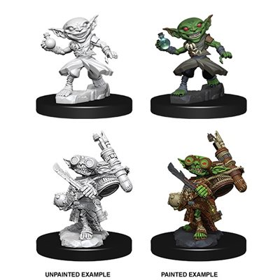 Pathfinder Deep Cuts Unpainted Miniatures: Wave 9: Male Goblin Alchemist