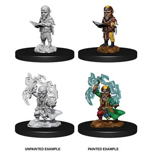 Pathfinder Deep Cuts Unpainted Miniatures: Wave 9: Gnome Male Sorcerer