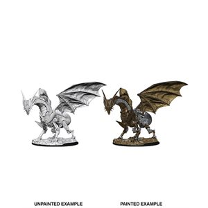 Pathfinder Deep Cuts Unpainted Miniatures: Wave 9: Clockwork Dragon