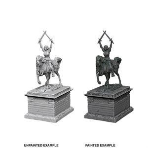 WizKids Deep Cuts Unpainted Miniatures Terrain: Wave 10: Heroic Statue ^ Sep 2019
