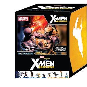 Marvel HeroClix: Wolverine v Cyclops: Xmen Regenesis Storyline Countertop Display