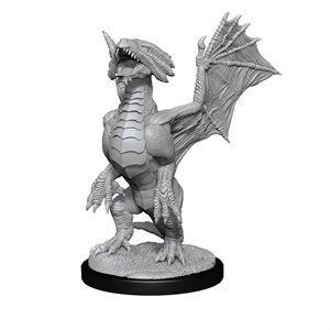 D&D Nolzur's Marvelous Unpainted Miniatures: Wave 13: Bronze Dragon Wyrmling & Treas.