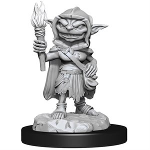 Pathfinder Deep Cuts Unpainted Miniatures: Wave 13: Goblin Rogue Female