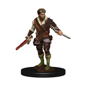 D&D Minis: Icons of the Realms Premium Painted Figures Wave 4: Human Rogue Male ^ DEC 2020