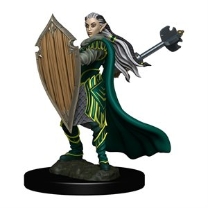 D&D Minis: Icons of the Realms Premium Painted Figures Wave 4: Elf Paladin Female ^ DEC 2020