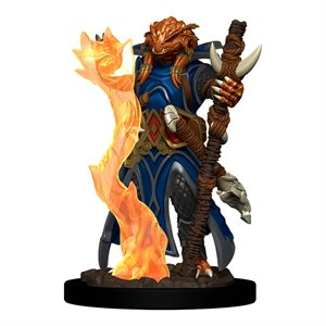 D&D Minis: Icons of the Realms Premium Painted Figures Wave 4: Dragonborn Sorcerer Female ^ DEC 2020