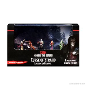 D&D Minis: Icons of the Realms: Curse of Strahd: Legends of Barovia Premium Box Set ^ OCT 7 2020