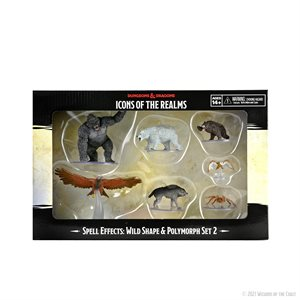 D&D Minis: Icons of the Realms: Wild Shape & Polymorph Set 2 ^ APR 21 2021