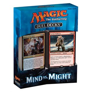 Magic the Gathering: Duel Decks Mind vs Might