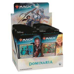 Magic the Gathering: Dominaria Planeswalker Deck Display