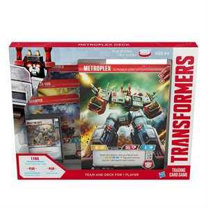 Transformers TCG: Wave 2 Metroplex Deck (No Quebec Sales)