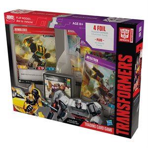 Transformers TCG: Wave 2 Bumblebee vs Megatron Starter (No Quebec Sales)