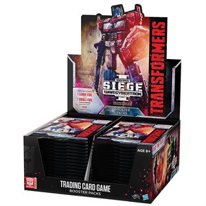 Transformers TCG: Wave 3 War for Cybertron: Siege 1 Booster (No Quebec Sales) ^ Jun 28, 2019